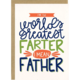 Little Lovelies Studio World's Greatest Farter Card