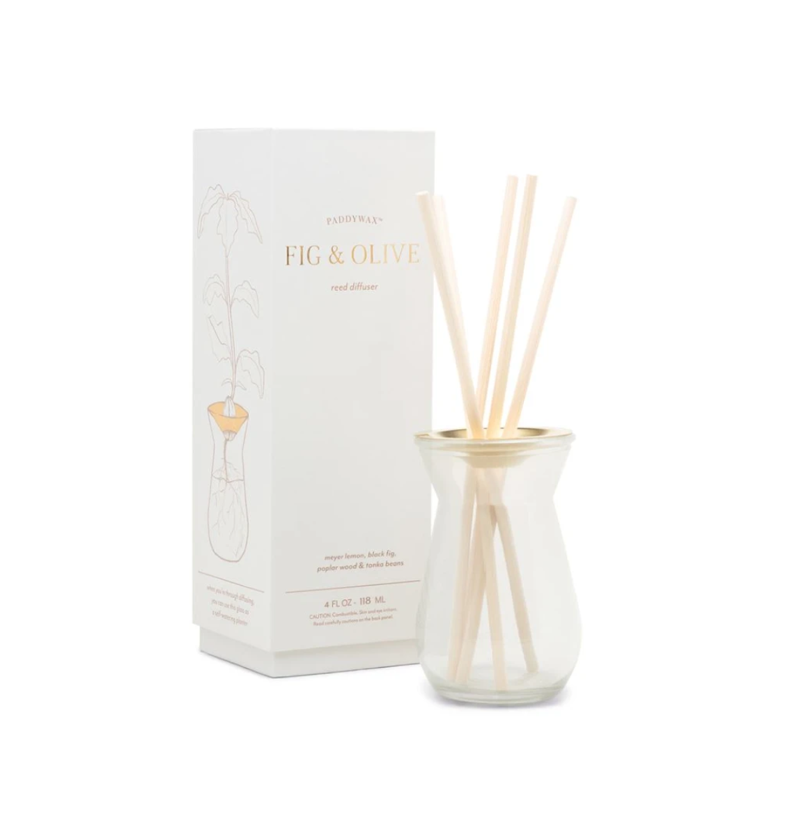 PADDYWAX Flora Diffuser-Fig and Olive