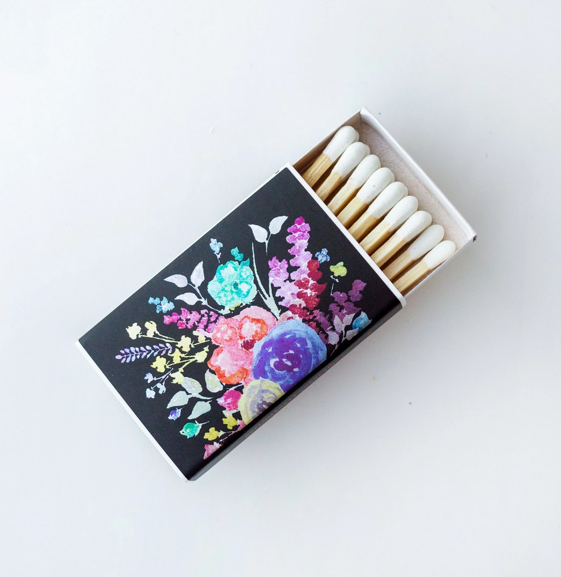 """Greenmarket Purveying Co. Metallic Floral Matchbox Collection-Classic 2"""""""