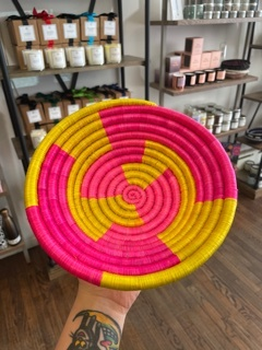 Vai Girl Small Woven Basket