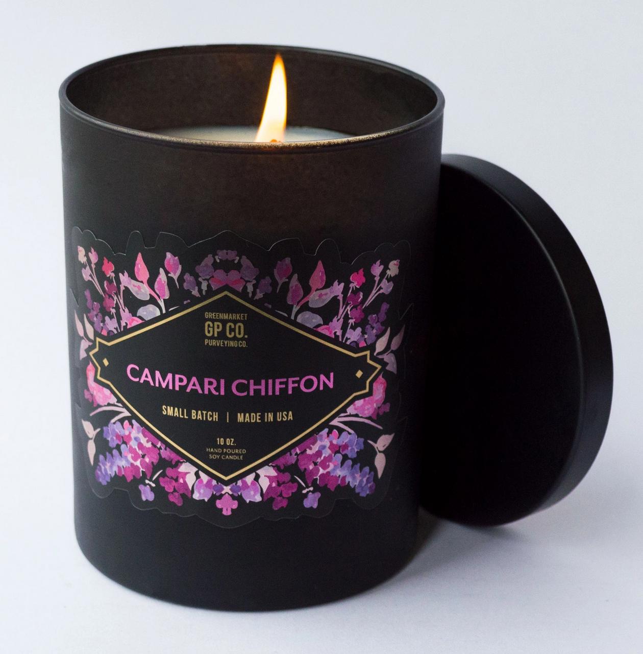 Greenmarket Purveying Co. The Awakening Collection-Campari Chiffon