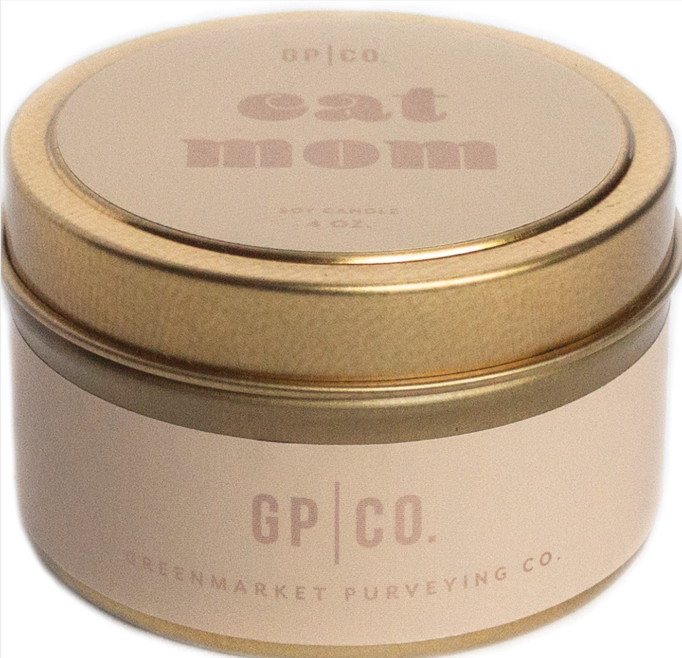 Greenmarket Purveying Co. For Mom-Cat Mom Candle