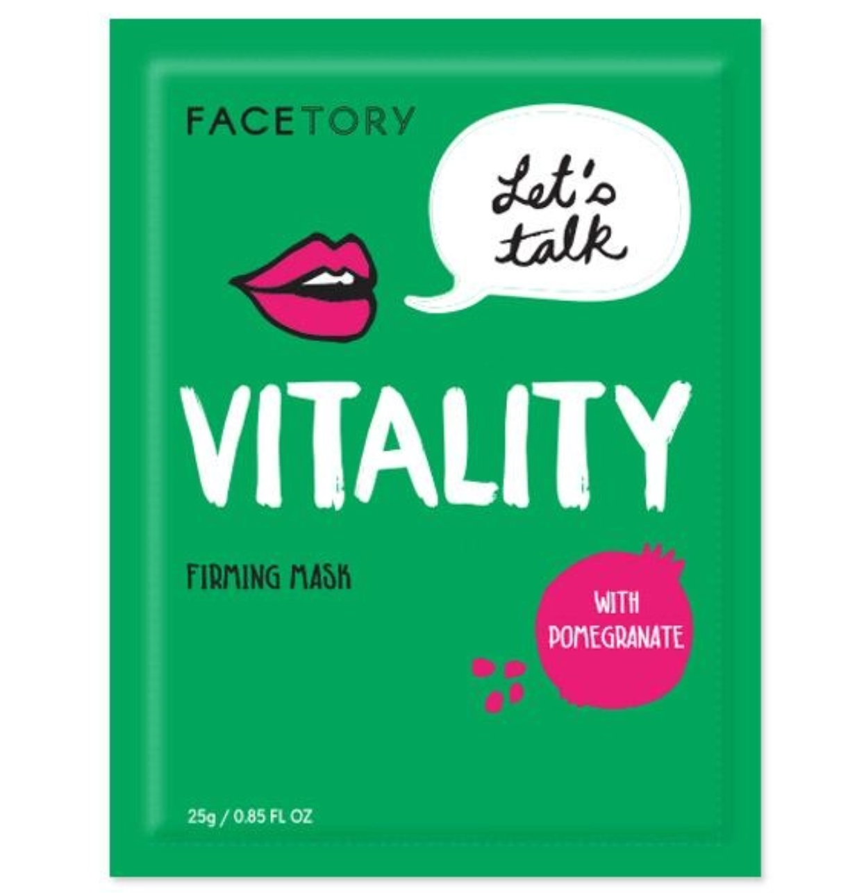 FaceTory Let's Talk Vitality Firming Mask