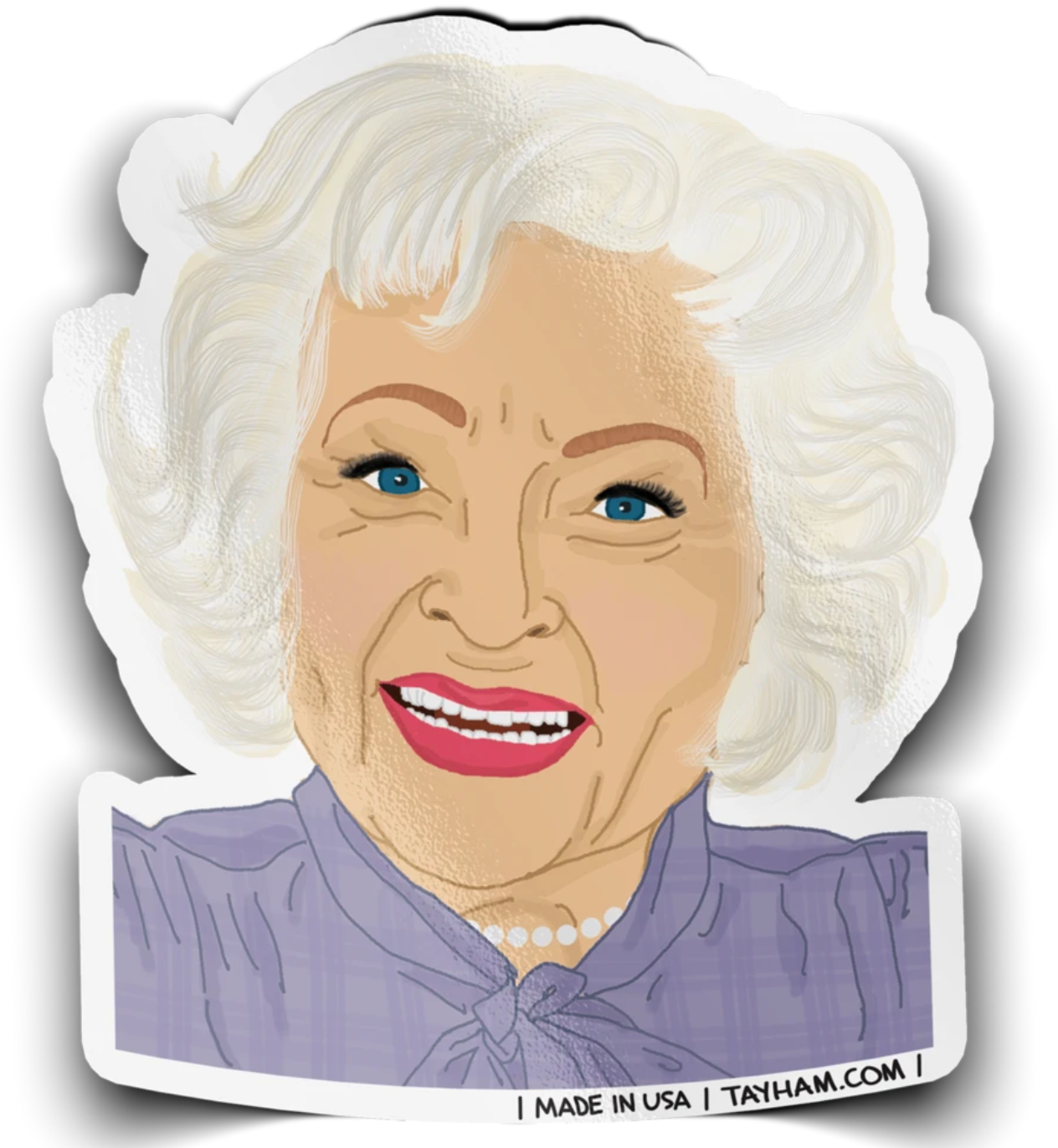Tay Ham Betty Sticker
