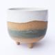 Niko Far West Ceramics NK200 Tripod Green Stripe
