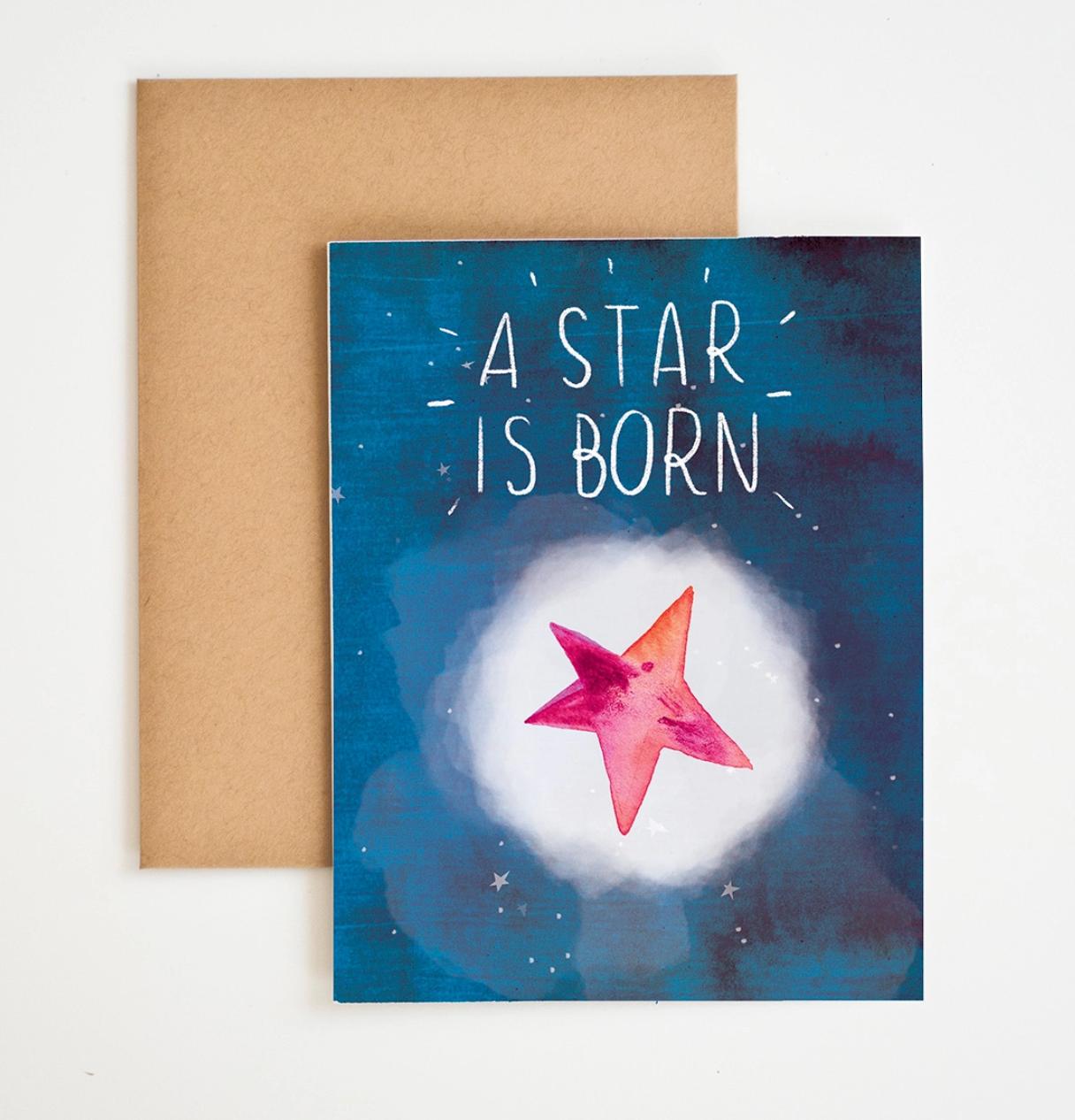 Meera Lee Patel A Star is Born Card