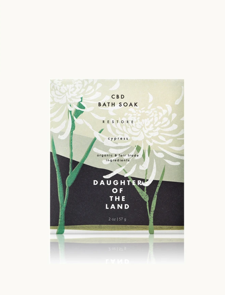 Daughter of the Land Single Soak Packet-Cypress