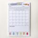 Steel Petal Press Monthly Mood Chart Tracker