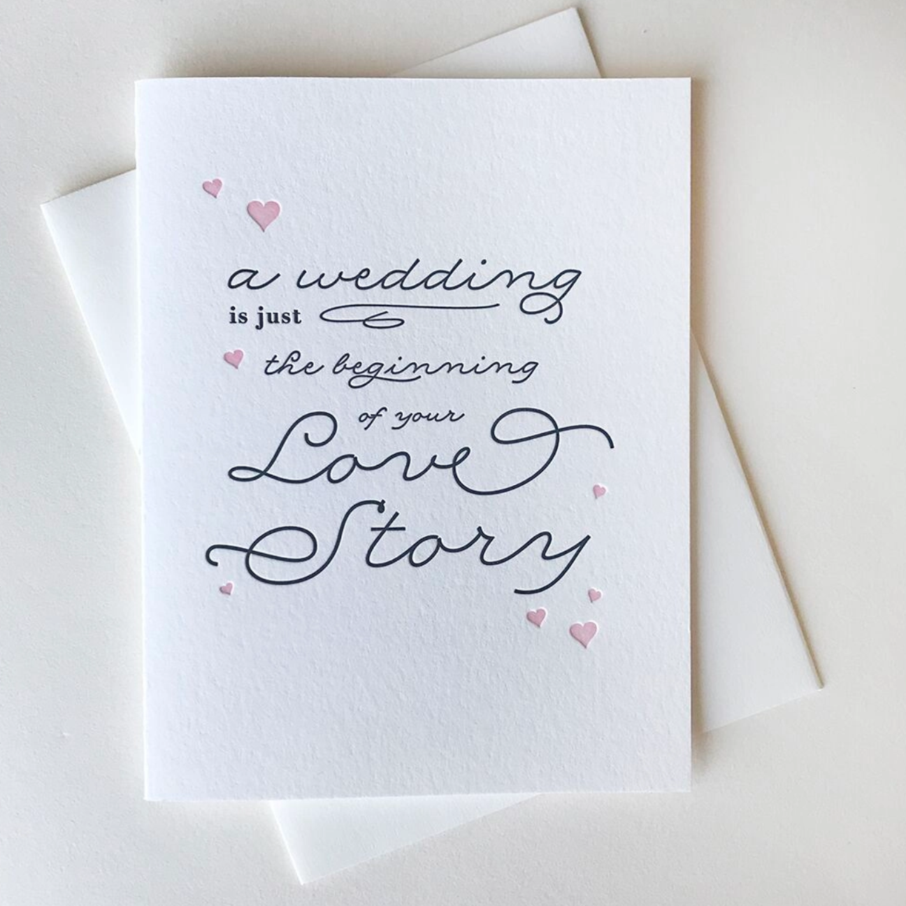 Steel Petal Press Love Story Card