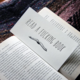 Steel Petal Press F*cking Book Bookmark