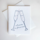 Steel Petal Press Cheers To Forever Card