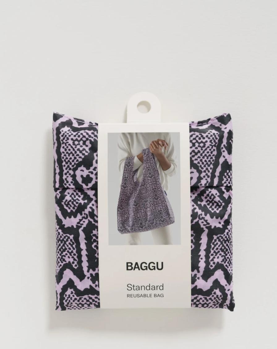 Baggu Standard Baggu - Pink Snakeskin