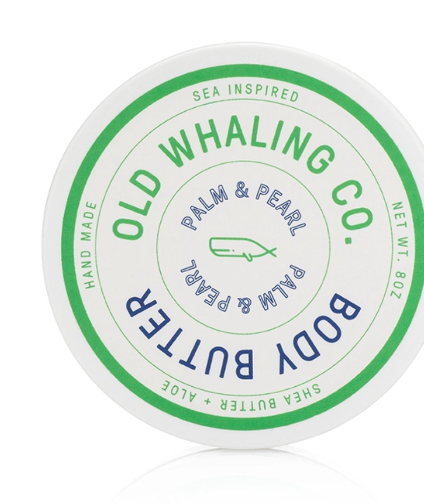 Old Whaling Company Palm & Pearl Body Butter