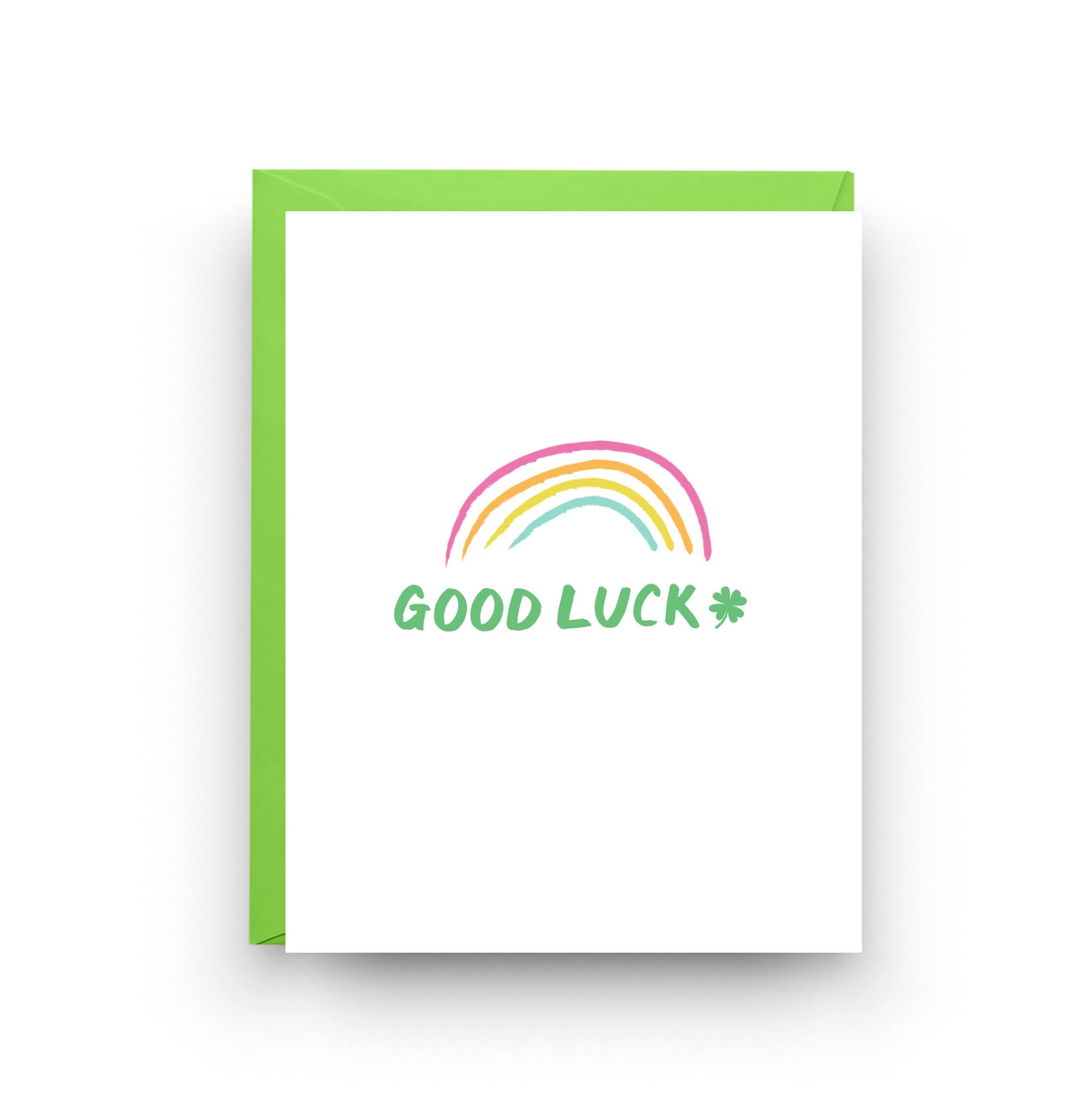 Nicole Marie Paperie Good Luck Card