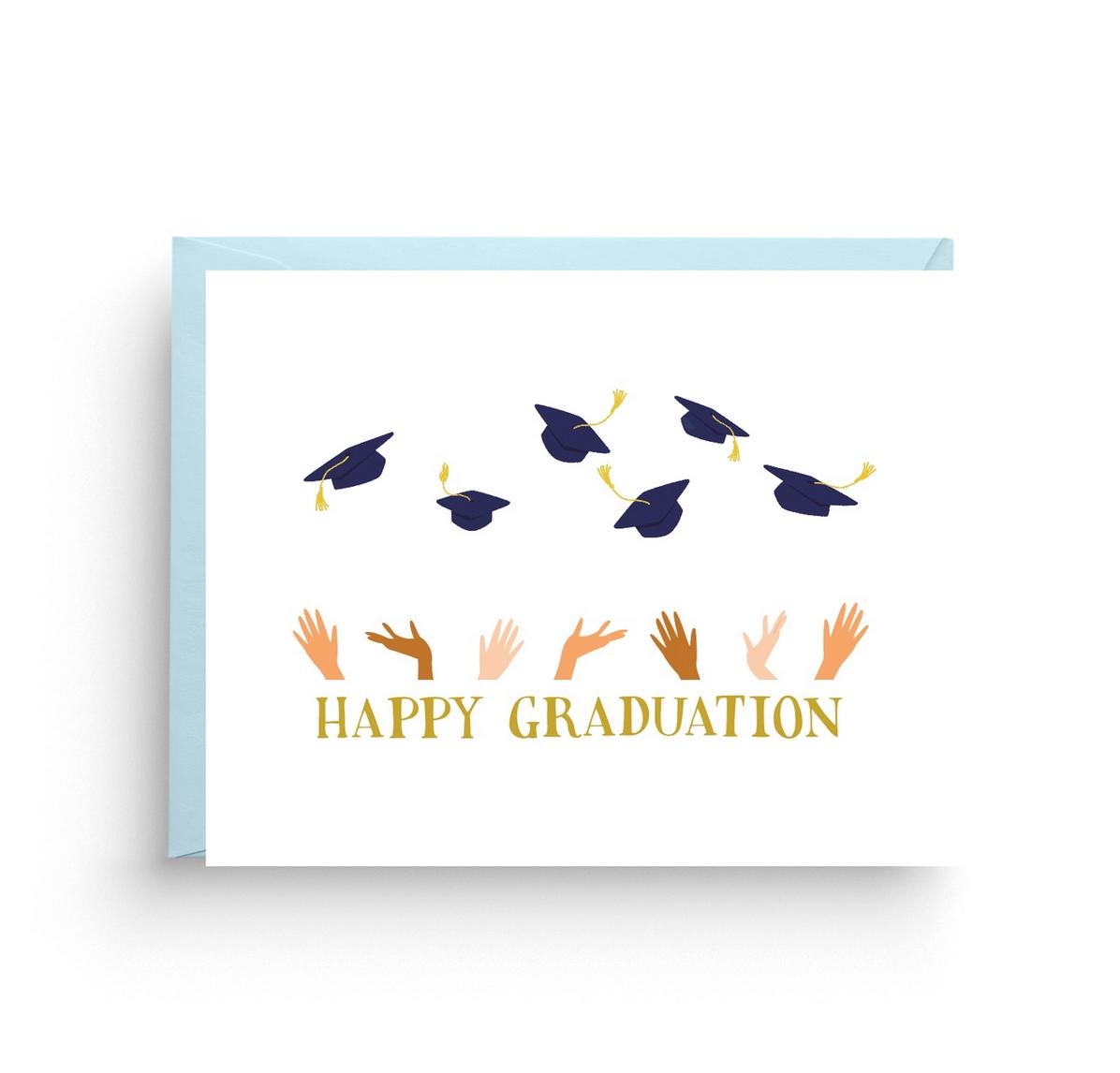 Nicole Marie Paperie Happy Graduation Card