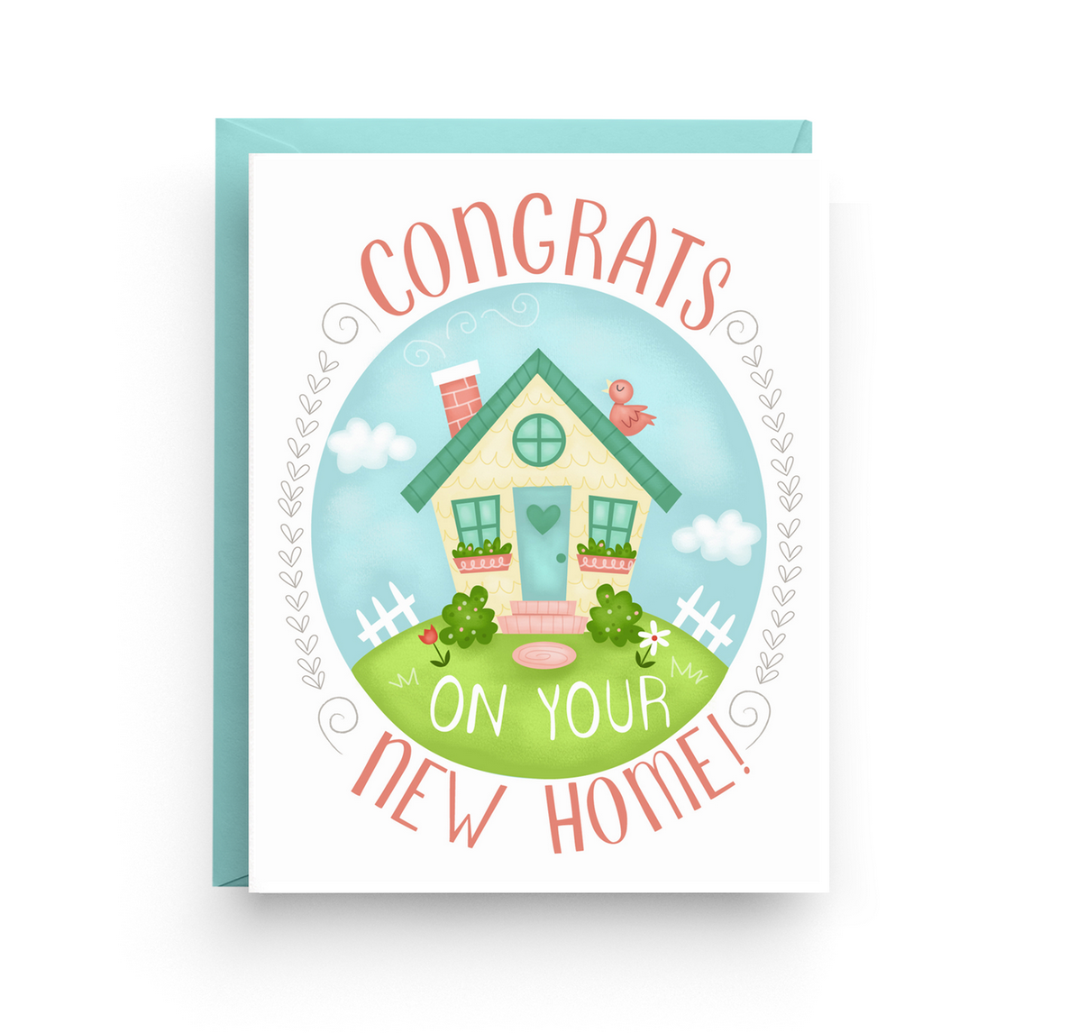 Nicole Marie Paperie New Home Card