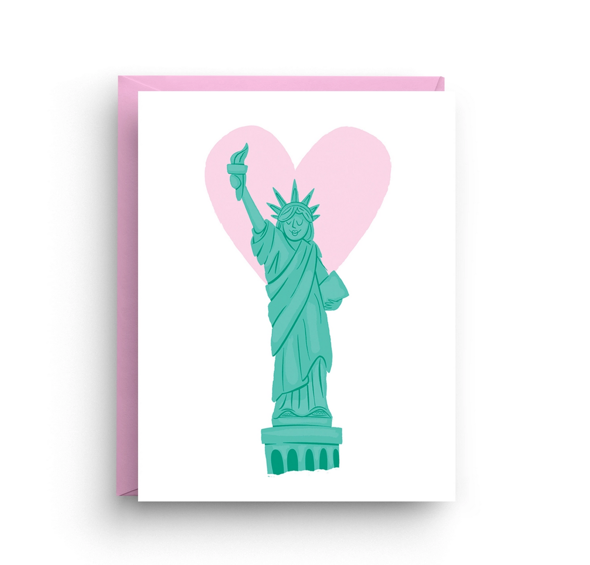Nicole Marie Paperie Statue of Liberty - Blank Card