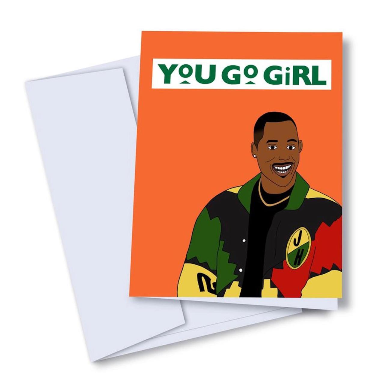 Kaleidadope You Go Girl! Card