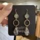 Metrix Jewelry Fiona Drop Earrings- Jade