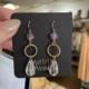 Metrix Jewelry Fiona Drop Earrings- Amethyst