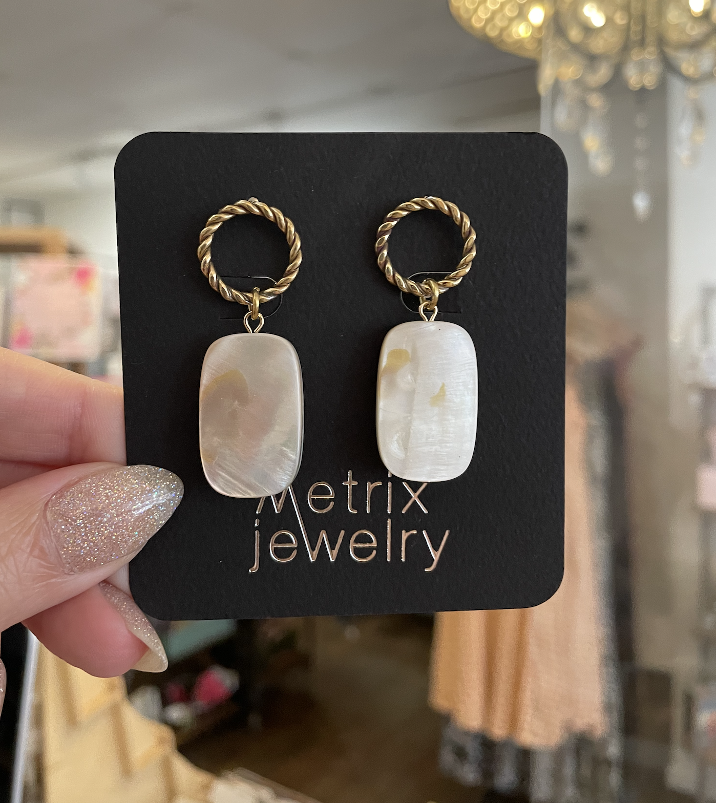 Metrix Jewelry SarahJane Earrings