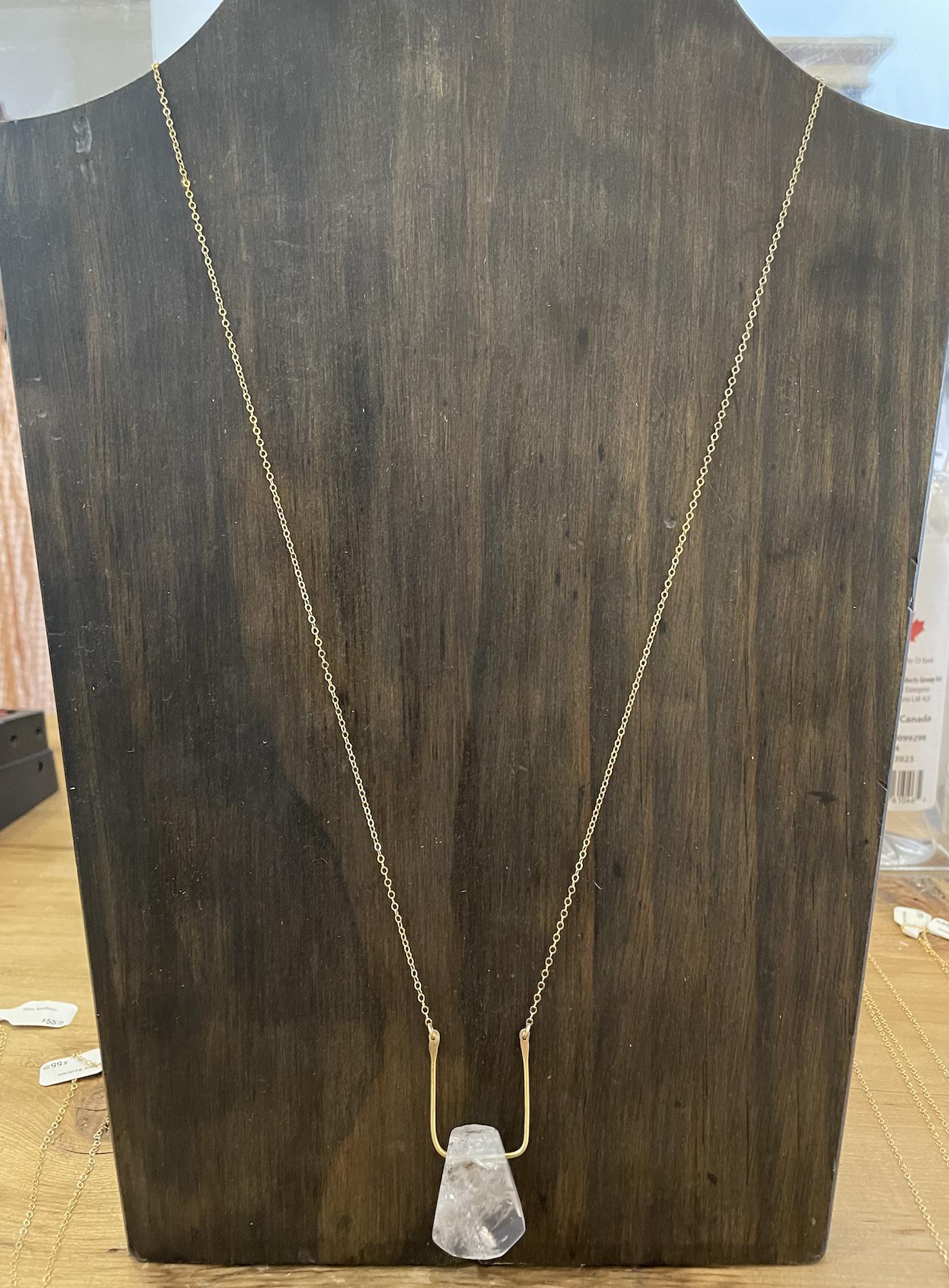 Metrix Jewelry Esme Necklace- White