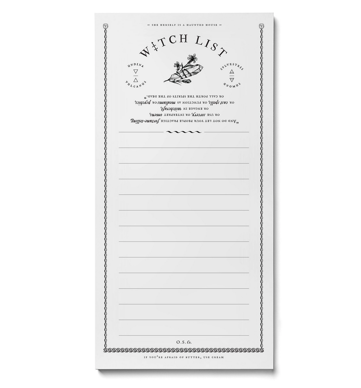 Open Sea Witch List Market Pad