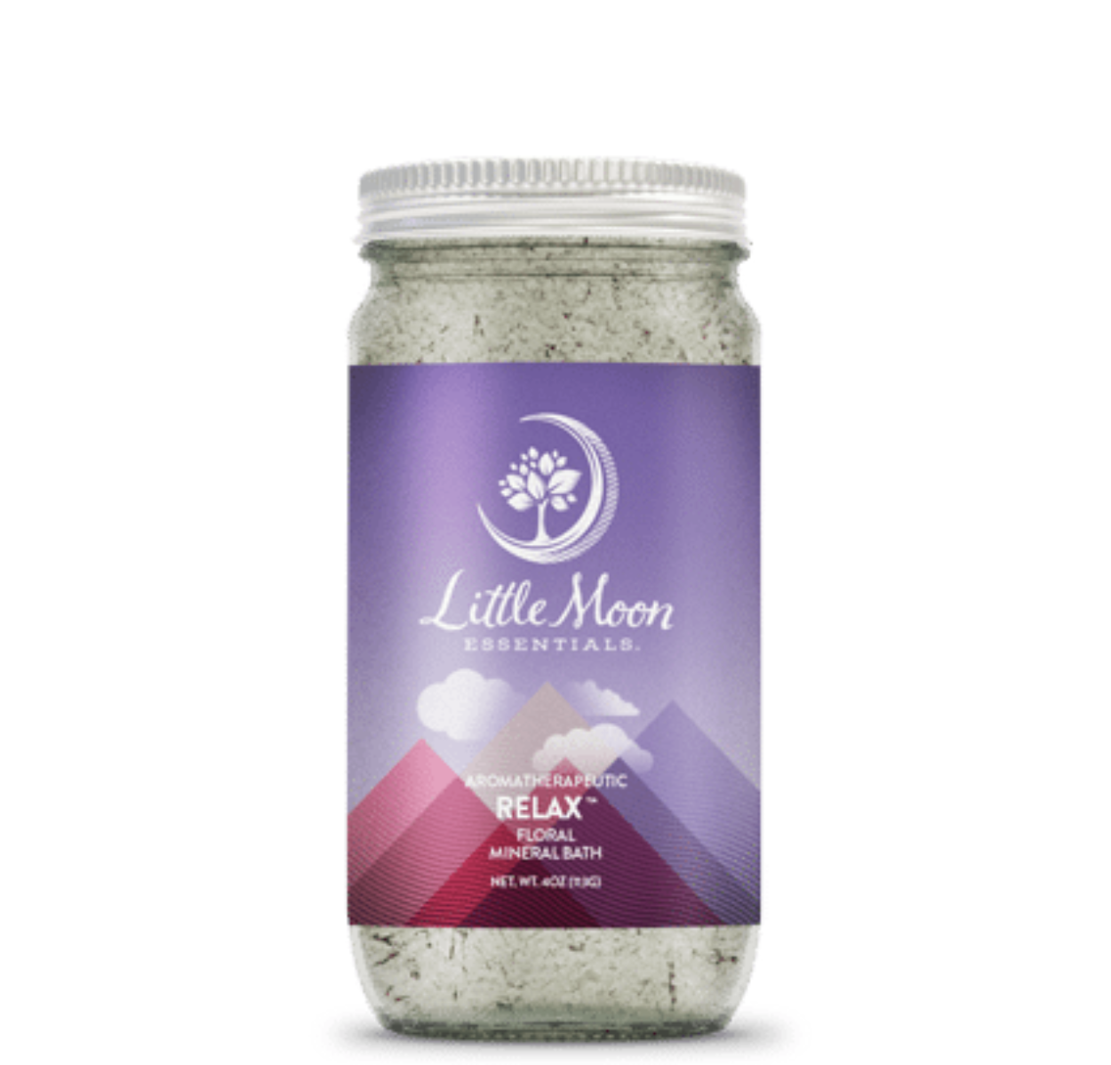 Little Moon Essentials Bath Salt 4oz - Relax