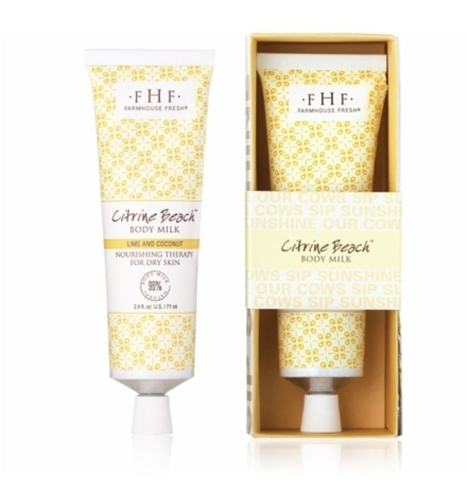 Farmhouse Fresh Citrine Beach Hand Lotion