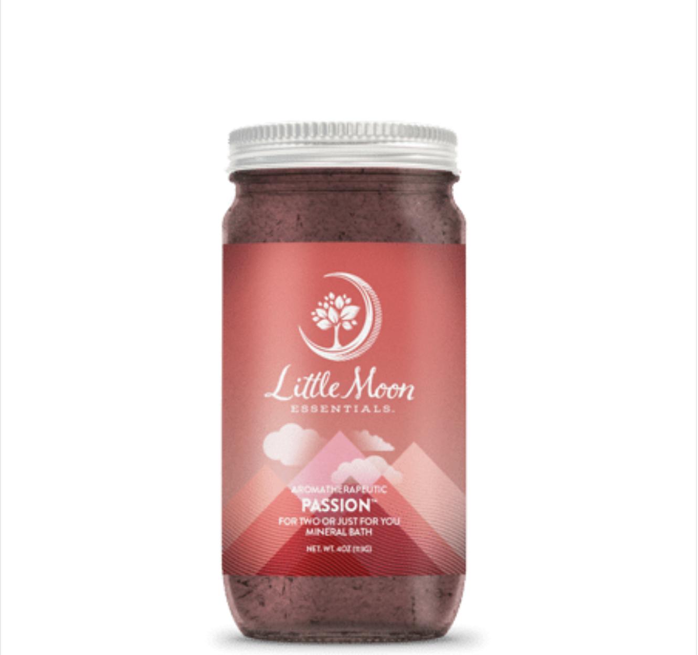 Little Moon Essentials Bath Salt 4oz-Passion
