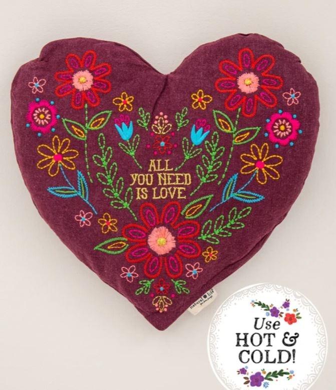 Natural Life Heart Heating Pad