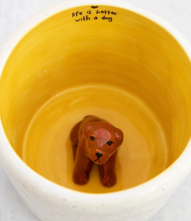 Natural Life Peek-A-Boo Mug-Dog