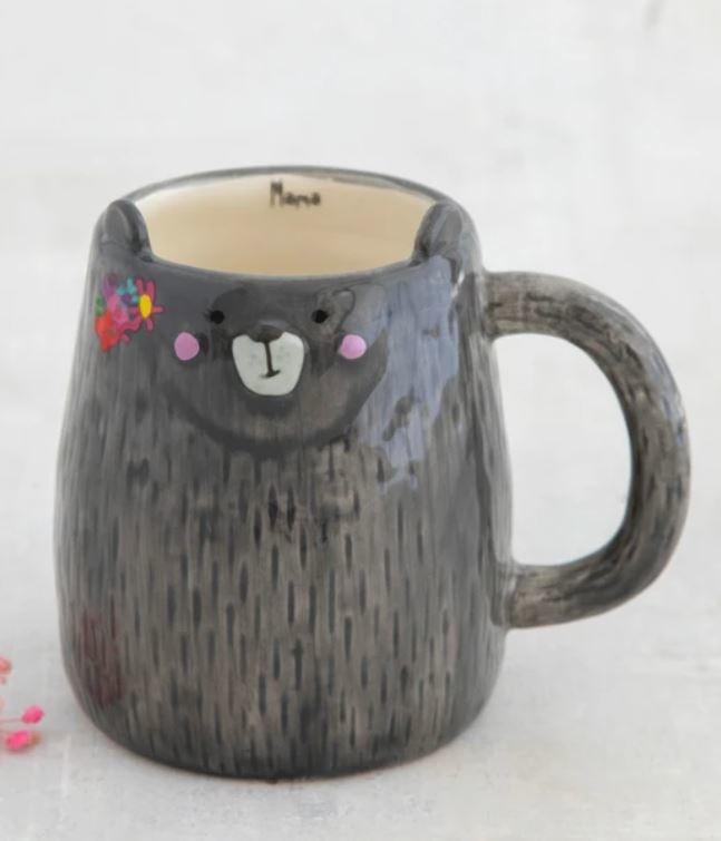Natural Life Folk Art Mug-The Mama Bear