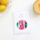 Please Bee Nice Soda Pop!- XL Beeswax Wrap