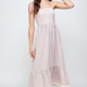 En Creme Lily Maxi Dress- Purple