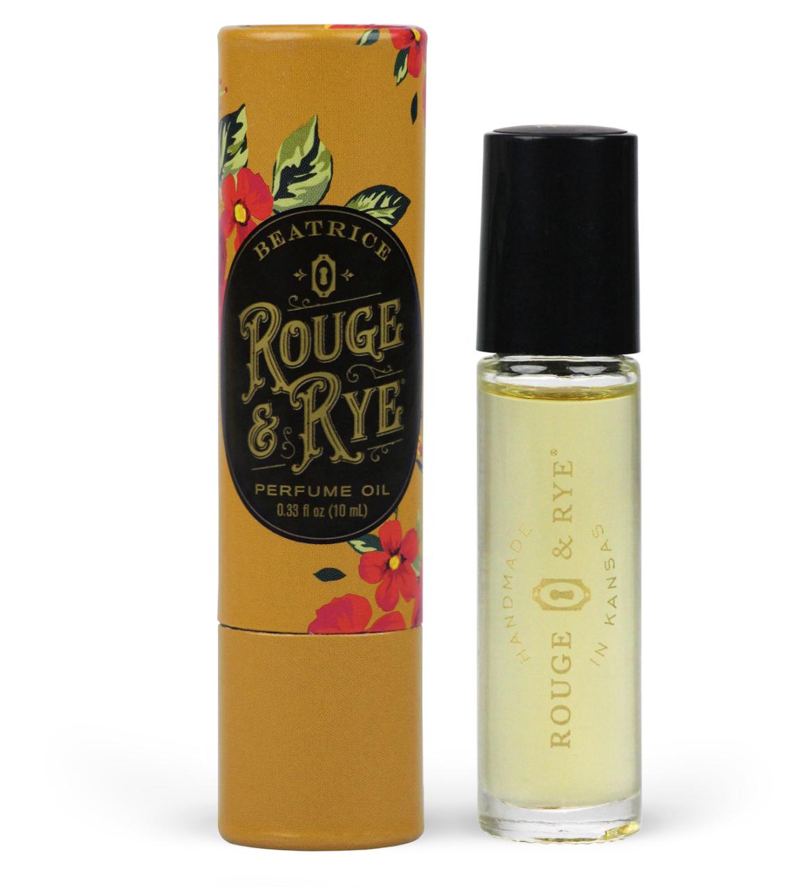 Rouge & Rye Beatrice Perfume Oil-Coconut Caramel Rose