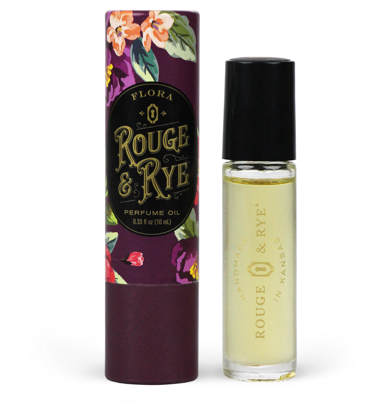 Rouge & Rye Flora Perfume-Pomegranate, Bergamot and Black Tea