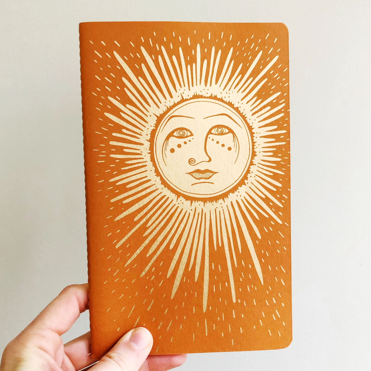 The Rainbow Vision Sun Notebook