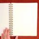The Rainbow Vision Space Rainbow Dot Journal in Lemon