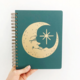 The Rainbow Vision Moon Face Journal