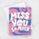 Idlewild Wavy Miss You Card