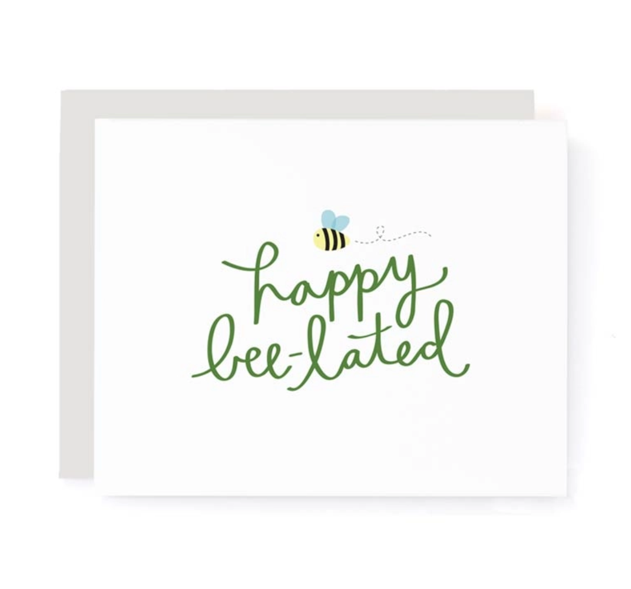 A Jar of Pickles Happy Bee-lated Birthday  Card