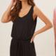 Lush Sleeveless Jumpsuit - Black