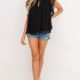 Lush Elsie Top- Black