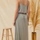 Lush Jersey Maxi Dress-Light Grey