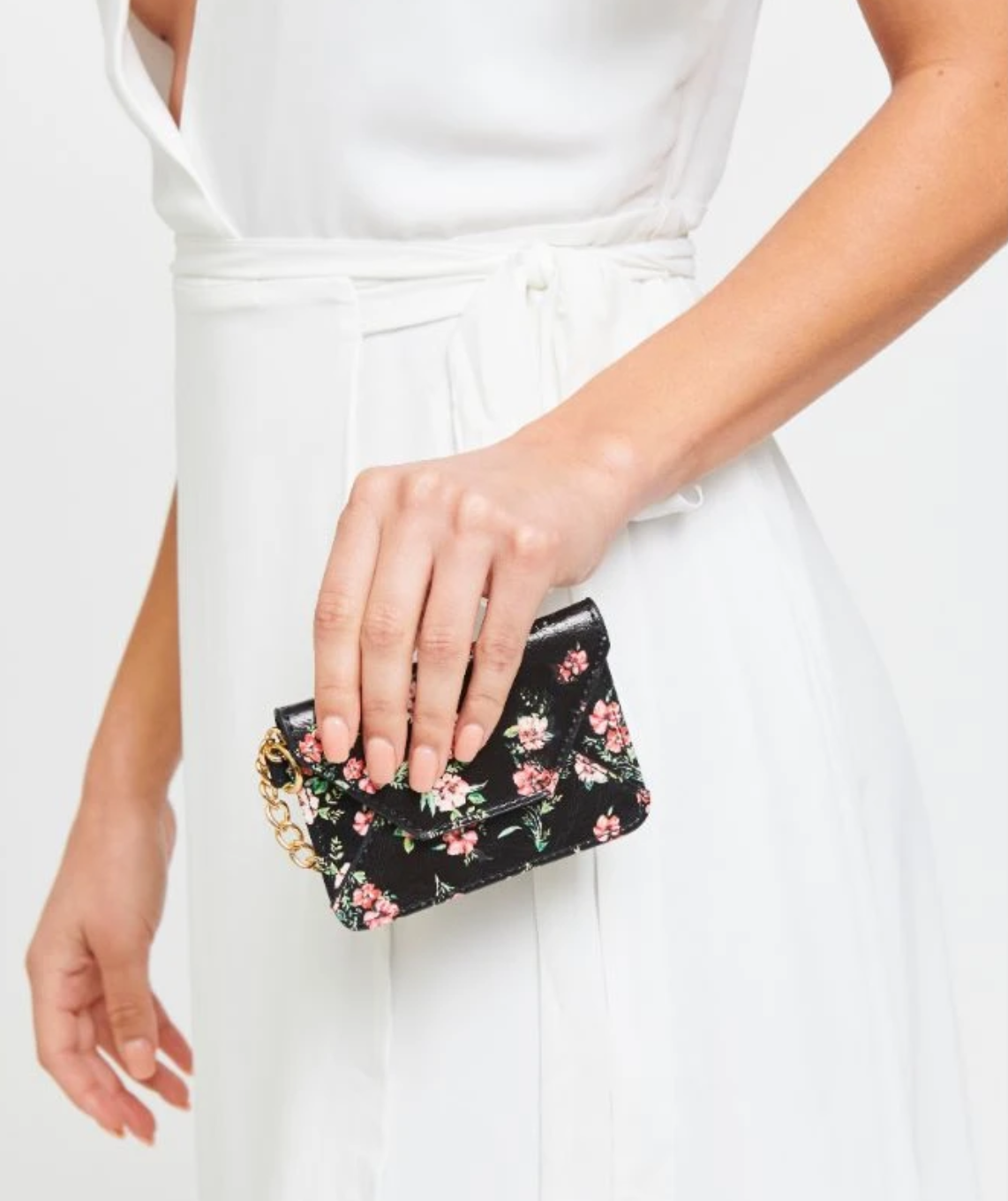 Urban Expressions Urban Expressions Gia Floral- Black