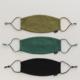 Baggu Fabric Mask Set Loop-Woodland