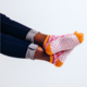 Woven Pear Buttercup Socks