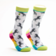 Woven Pear Unicorns and Rainbows Socks