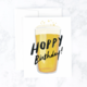 Idlewild Hoppy Birthday Beer Card